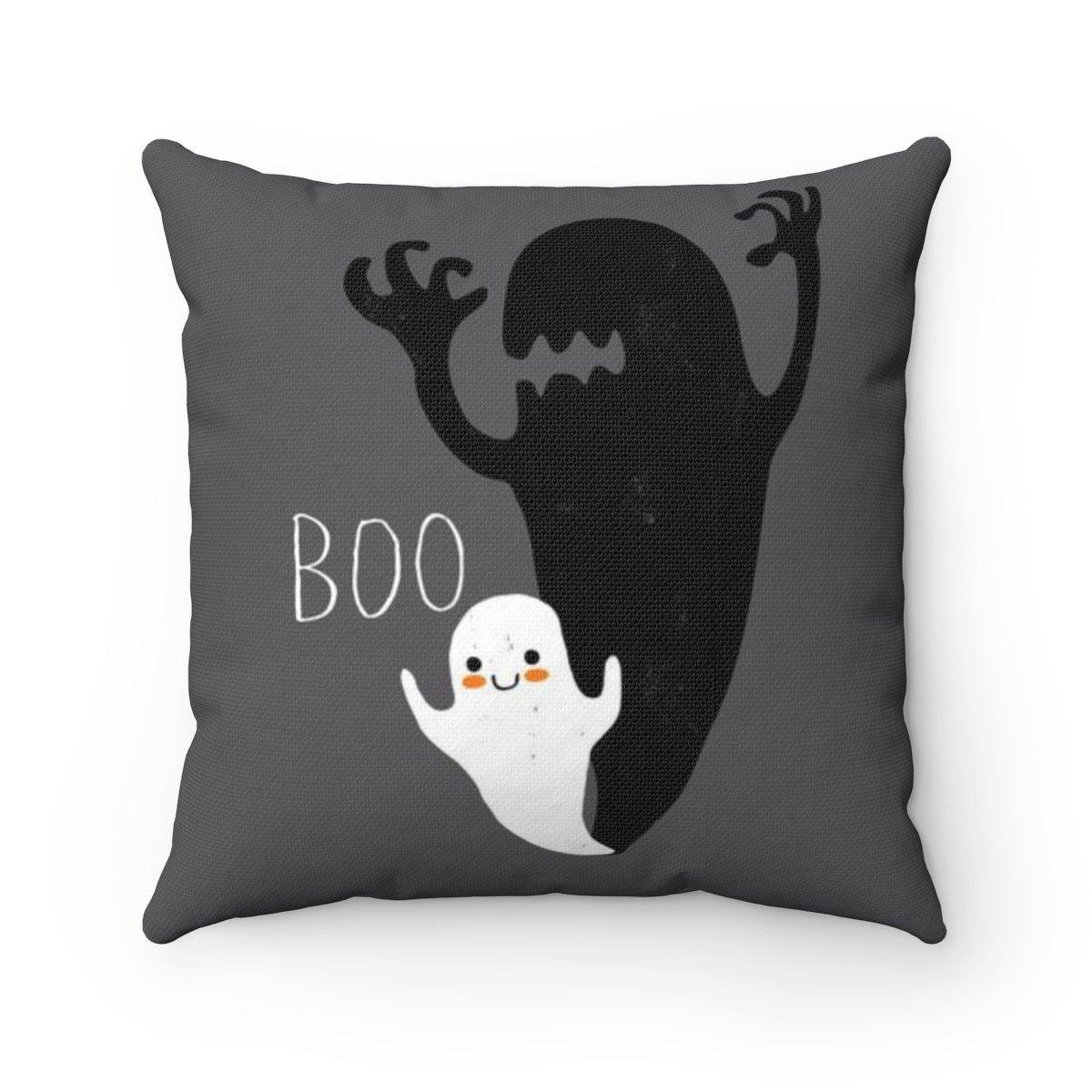 Cute Halloween Ghost Pillow-W.FRANCIS