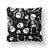 Skeleton Halloween Throw Pillow