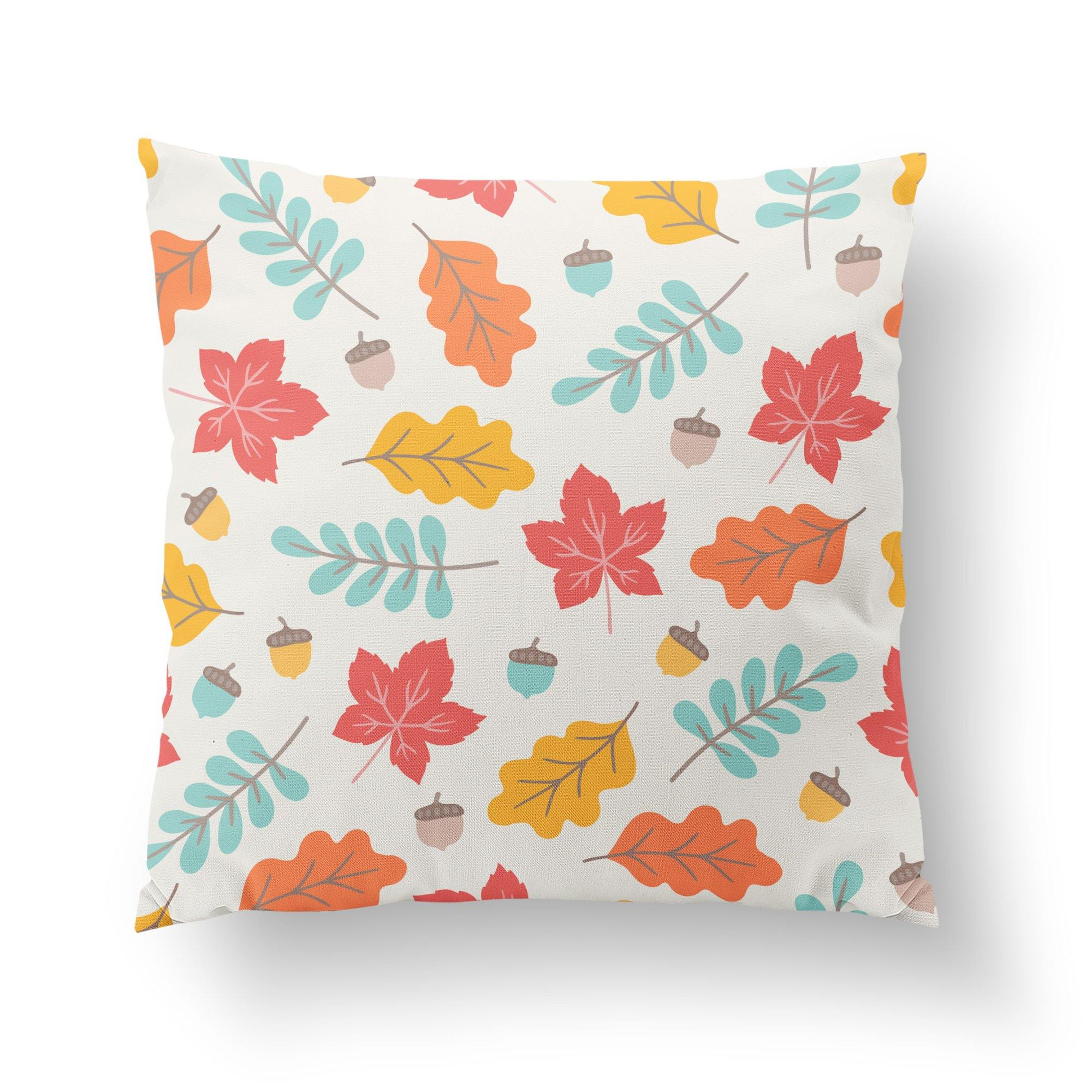 Fall Throw Pillow-W.FRANCIS