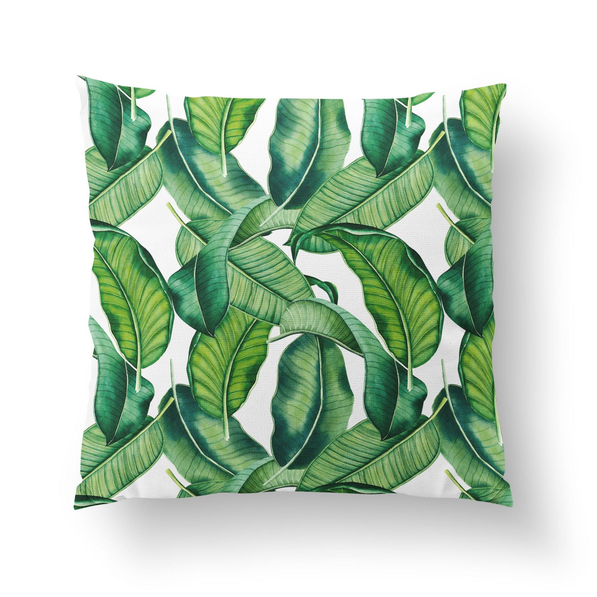 Banana Leaf Pillow-W.FRANCIS