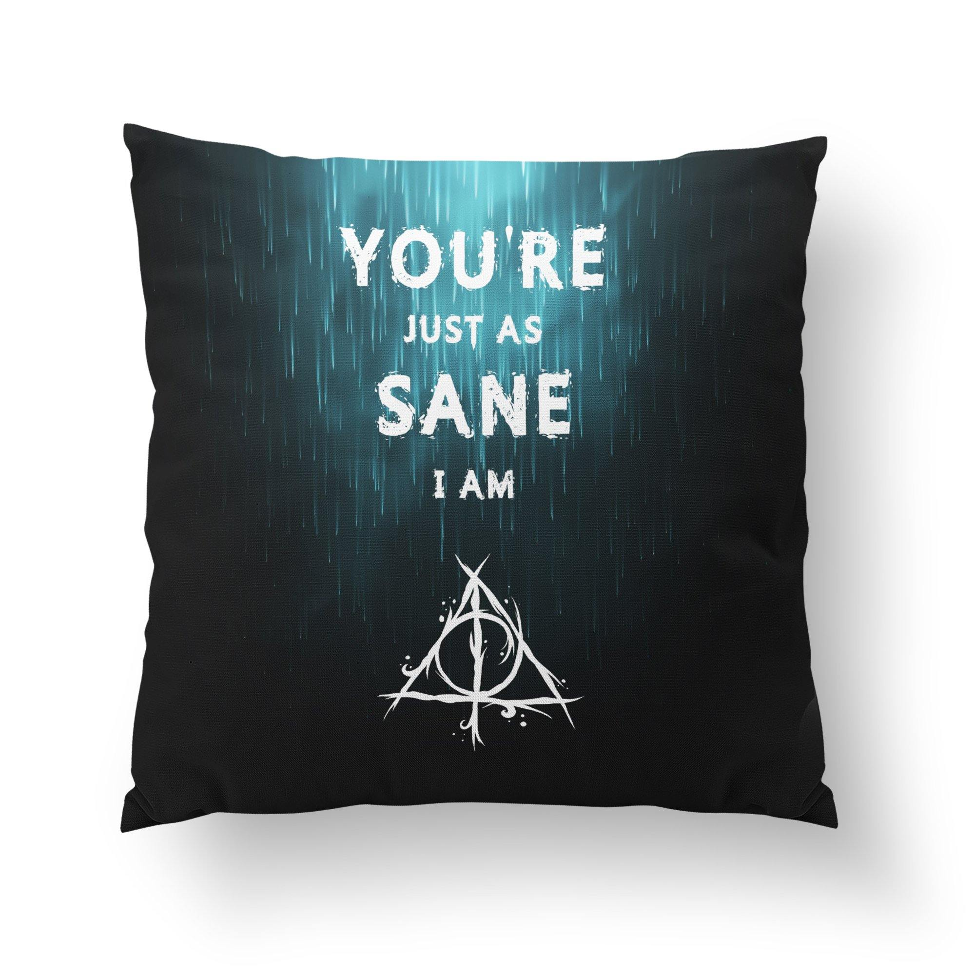 Hogwarts Themed Throw Pillow