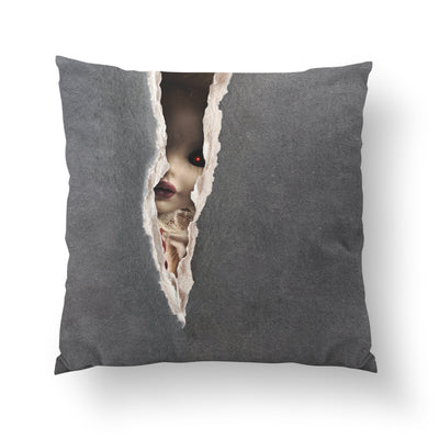 Spooky Doll Pillow-W.FRANCIS