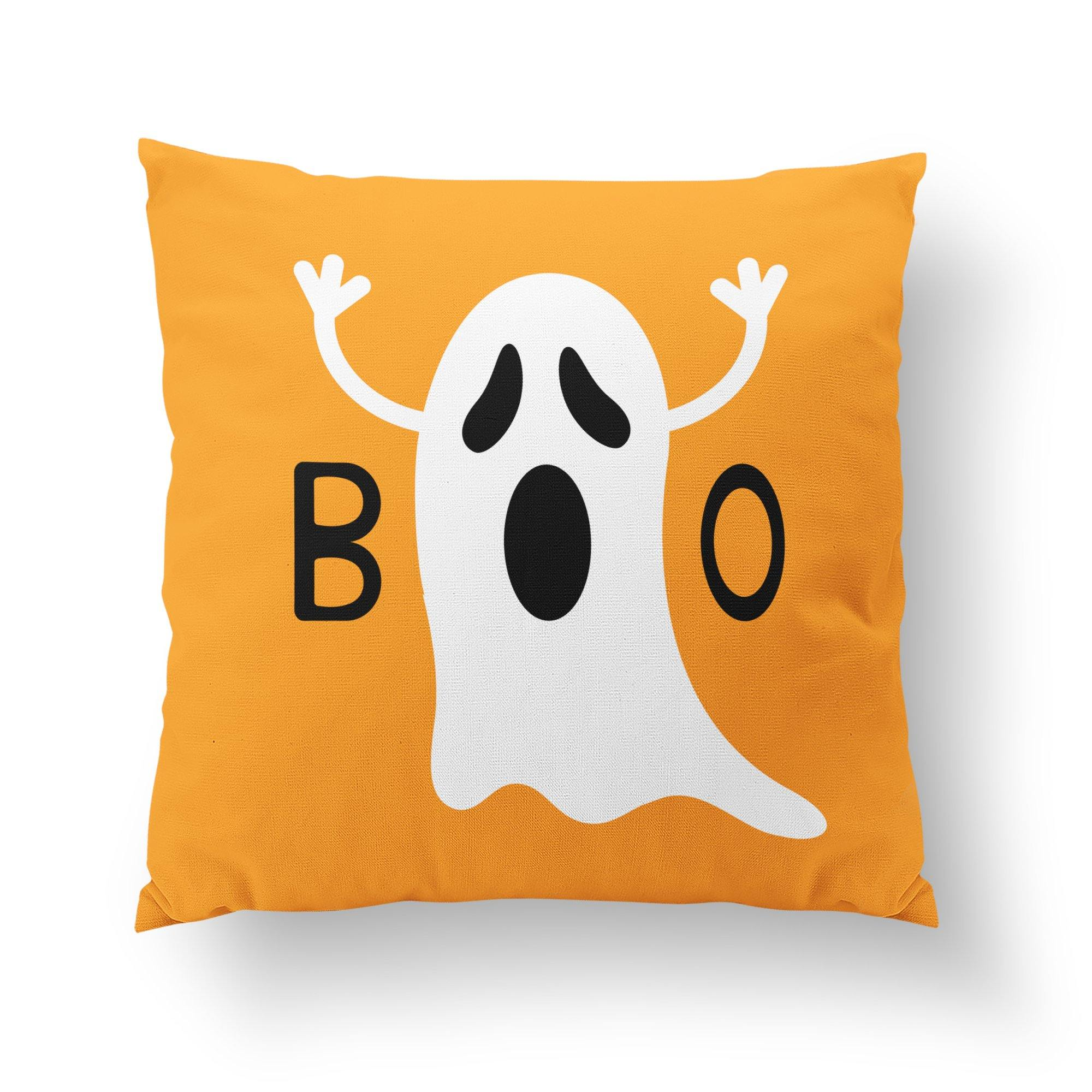 Boo Halloween Decorative Pillow