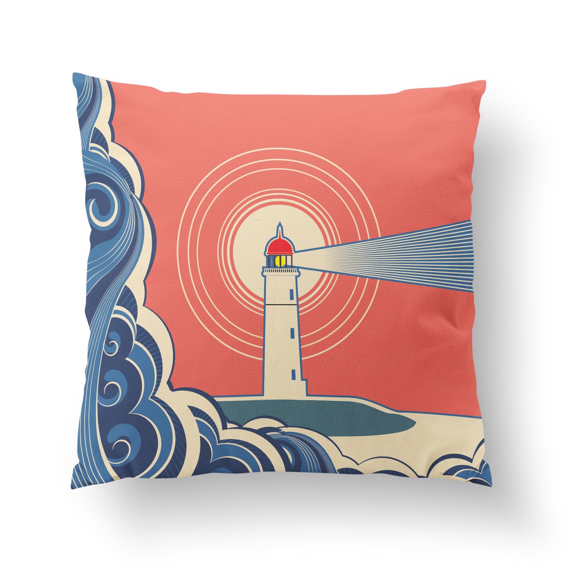 Lighthouse Pillow-W.FRANCIS