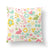 Spring Throw Pillow-W.FRANCIS