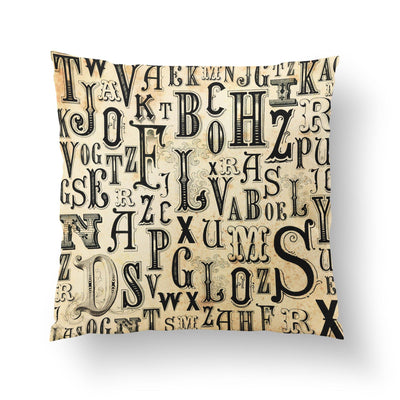 Steampunk Throw Pillow-W.FRANCIS