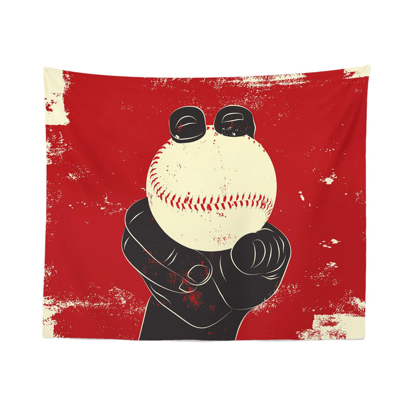 "Baseball ""Pitcher"" Wall Tapestry"