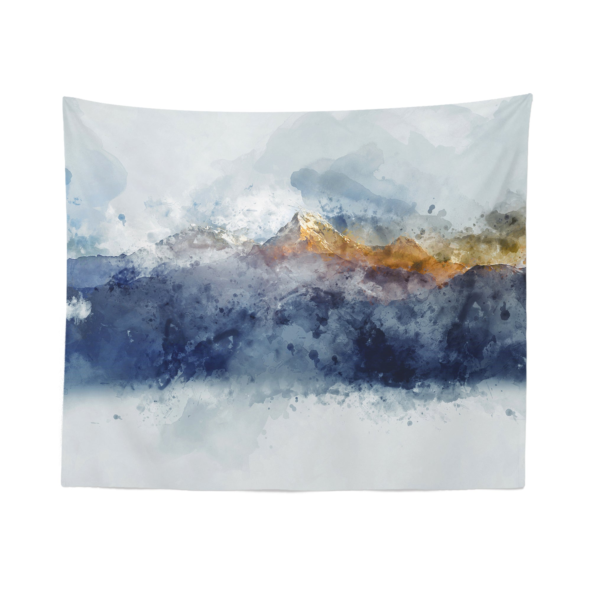 Scenic Mountain Wall Tapestry