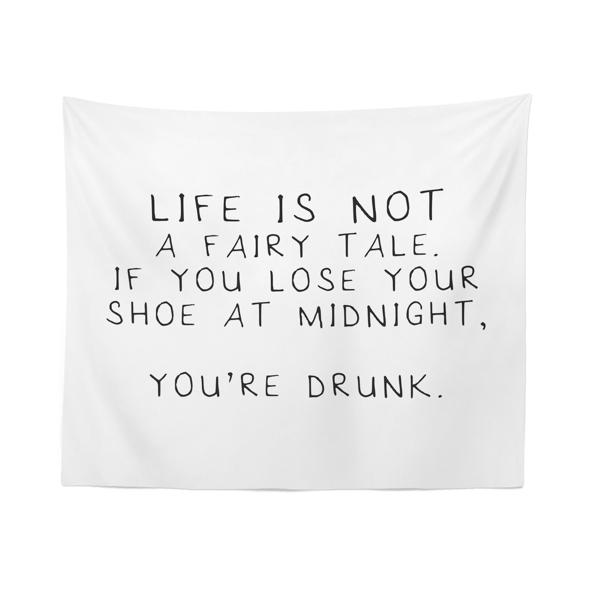 Funny Quote Tapestry