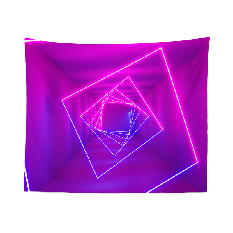 Pink Neon Tapestry