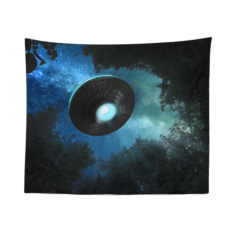 UFO Forest Tapestry