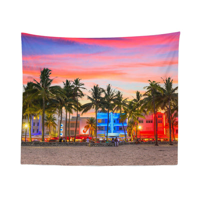 "Beach ""Florida"" Tapestry"
