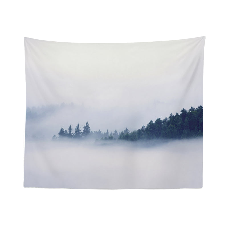 Foggy Mountain Tapestry