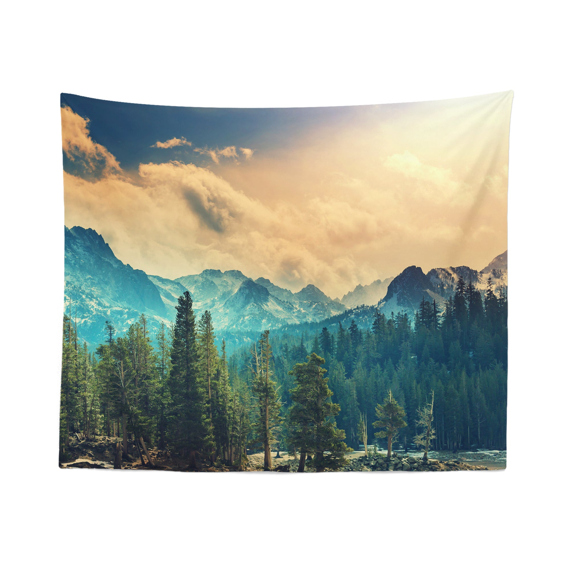National Park Forest Wall Tapestry