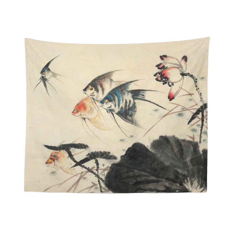 Fish Japanese Tapestry