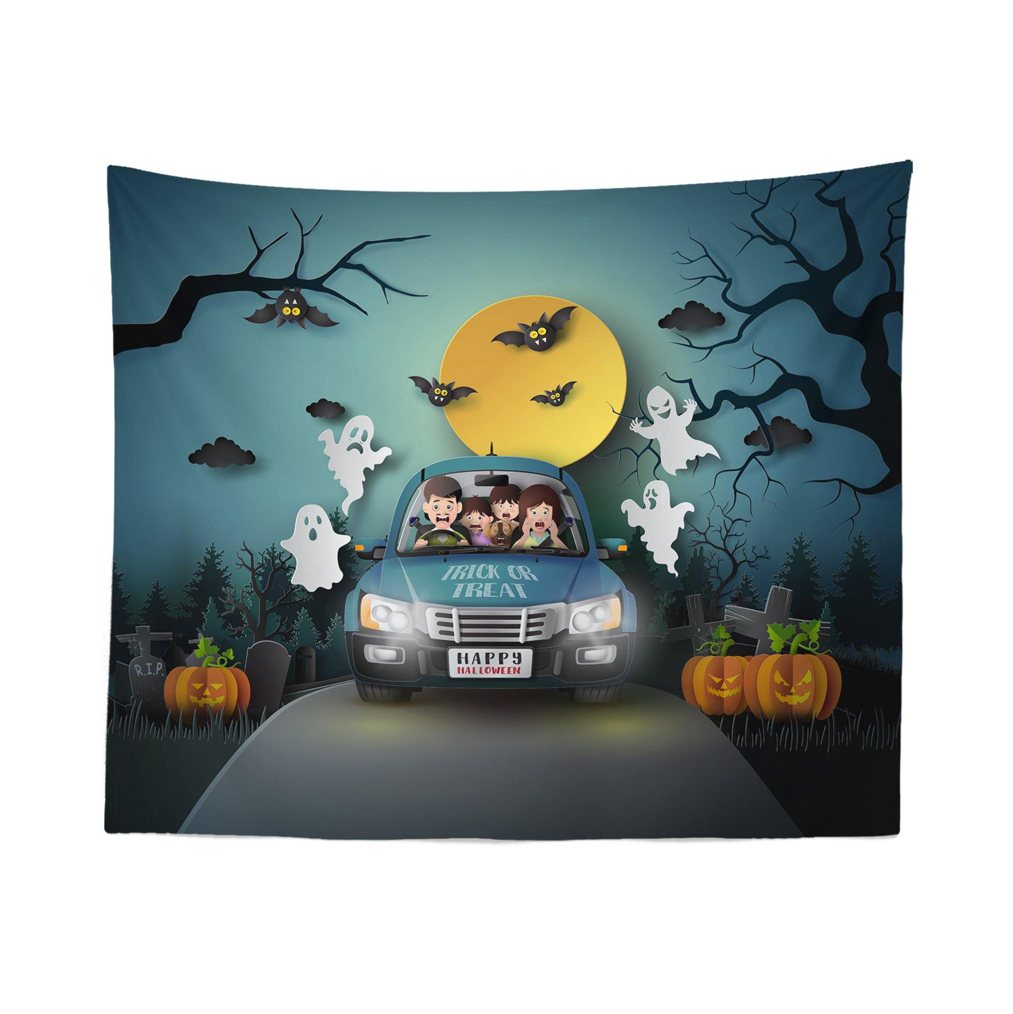 Funny Halloween Tapestry