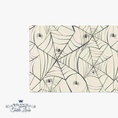 Halloween Spiderweb Table Runner | Table Runners | wFrancis Design
