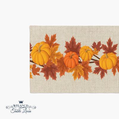 Thanksgiving Table Runner-W.FRANCIS