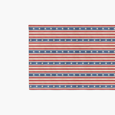 Vintage 4th of July Table Runner-W.FRANCIS