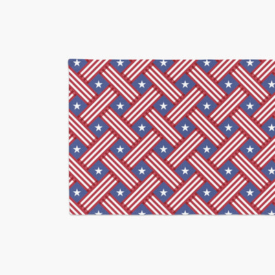 Fourth of July Table Runner-W.FRANCIS
