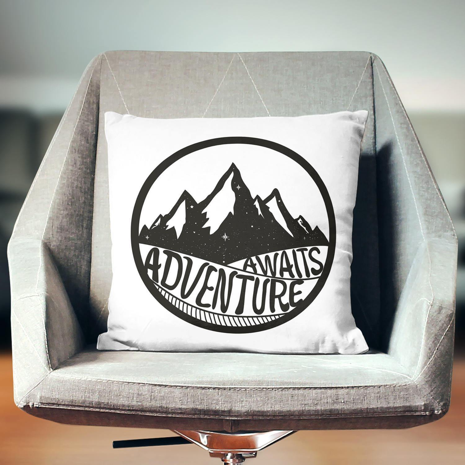 Adventure Awaits Pillow - Pillow Covers - W.FRANCIS