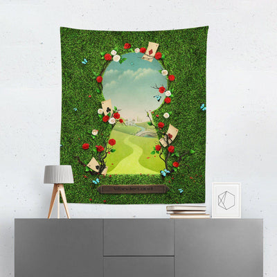 Alice in Wonderland Keyhole Tapestry-W.FRANCIS
