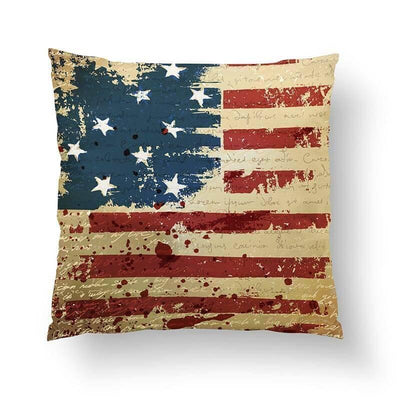 American Flag Pillow-W.FRANCIS
