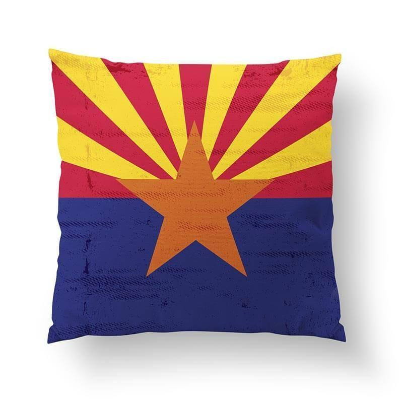 Arizona Flag Pillow-W.FRANCIS