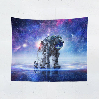 "Astronaut ""Mystical Ground"" Tapestry-W.FRANCIS"