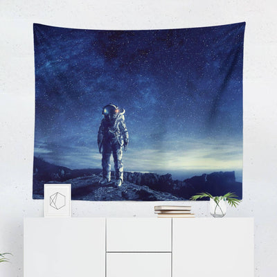 "Astronaut ""Outer Space"" Wall Tapestry-W.FRANCIS"