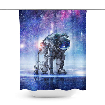 Astronaut Shower Curtain-W.FRANCIS