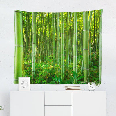 Bamboo Forest Tapestry-W.FRANCIS
