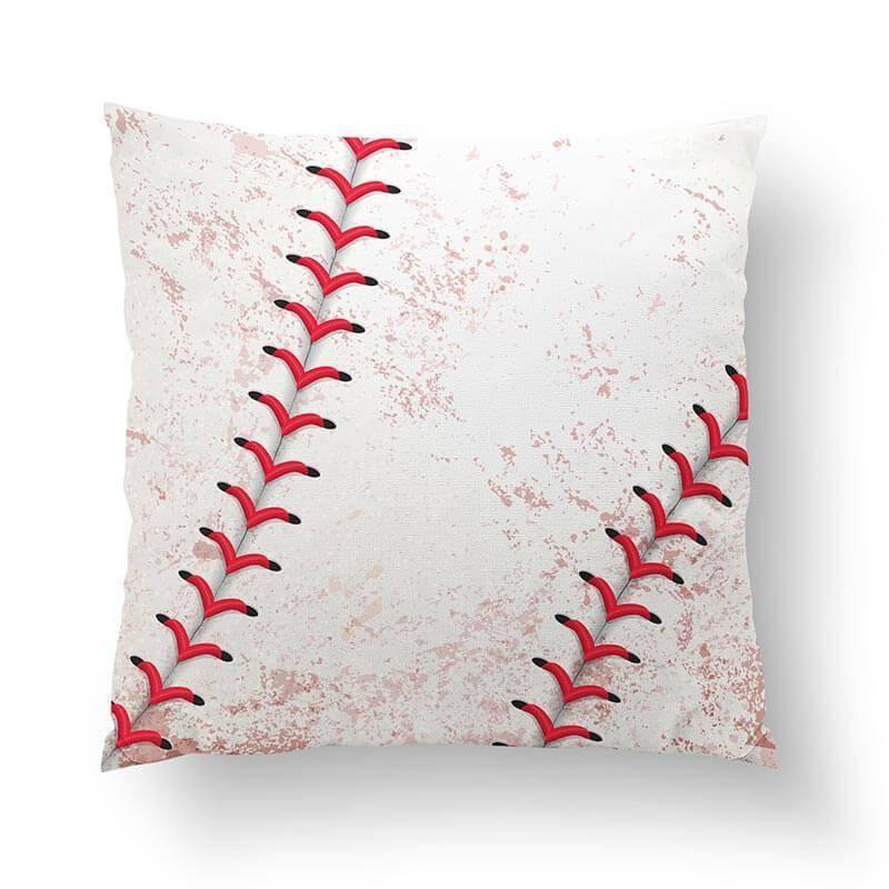 Baseball Throw Pillow-W.FRANCIS