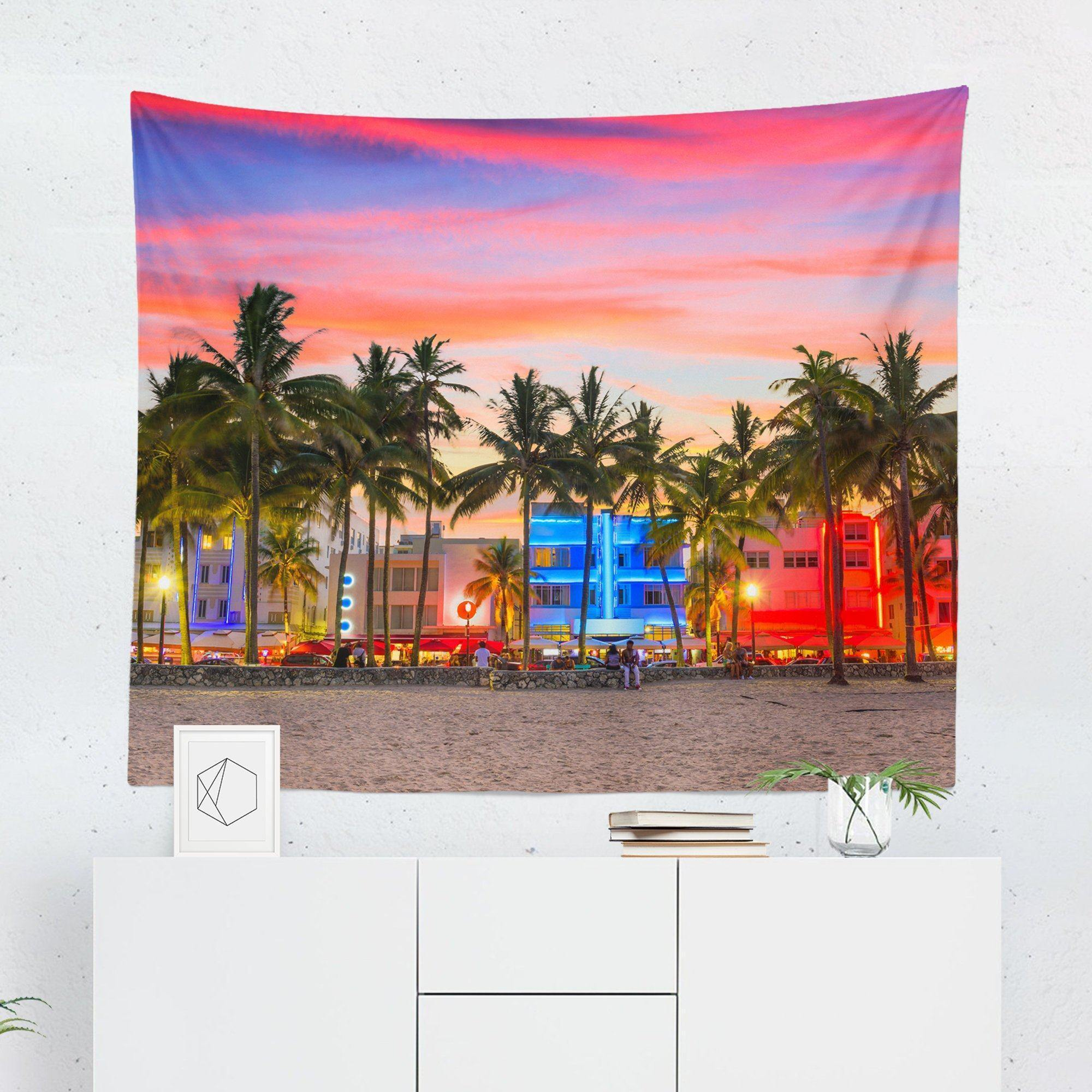 "Beach ""Florida"" Tapestry-W.FRANCIS"