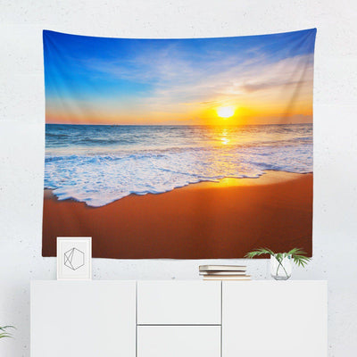 Beach Sunset Tapestry-W.FRANCIS