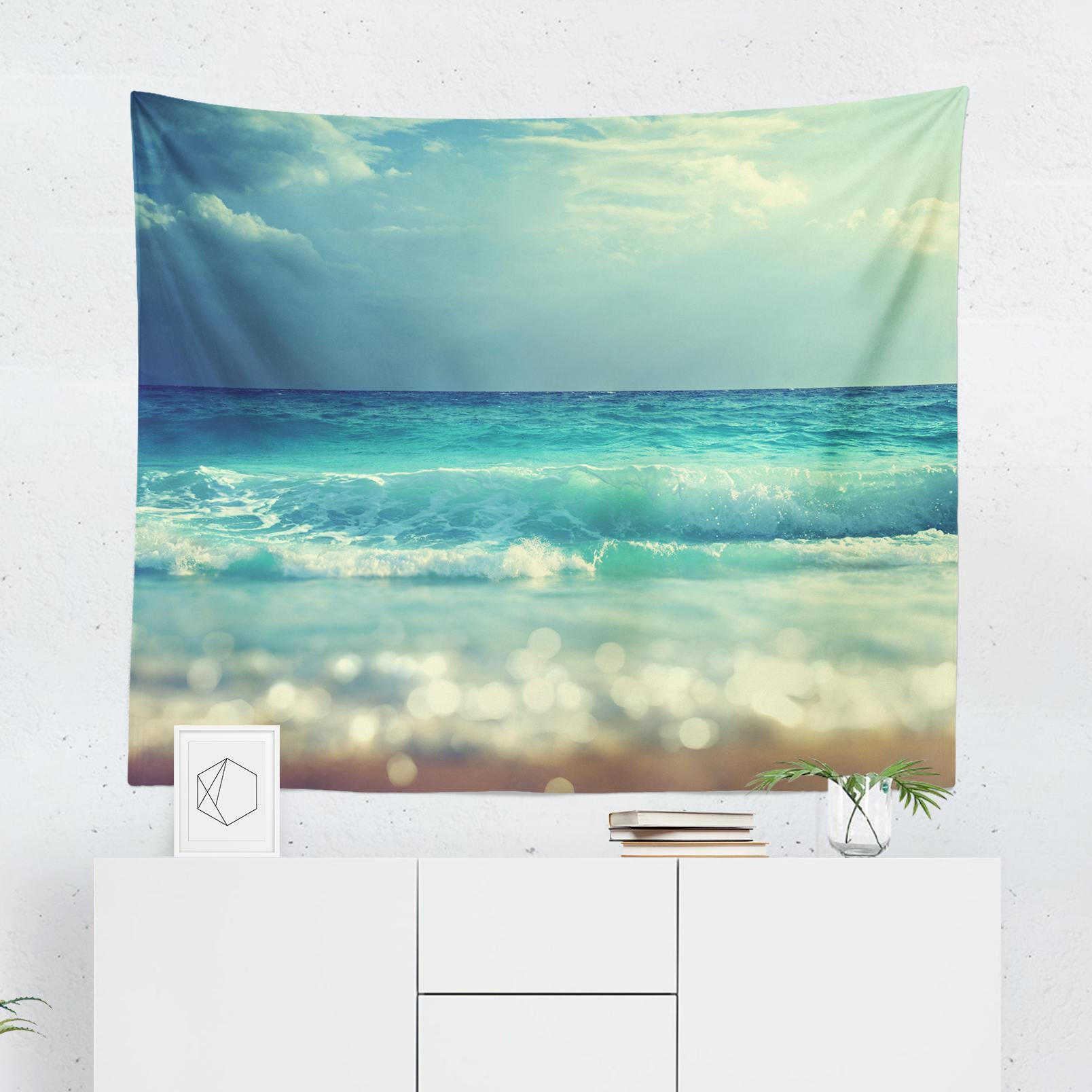 Beach Tapestry-W.FRANCIS