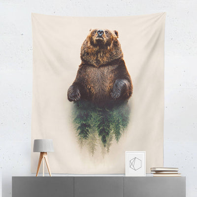 Bear Forest Tapestry-W.FRANCIS