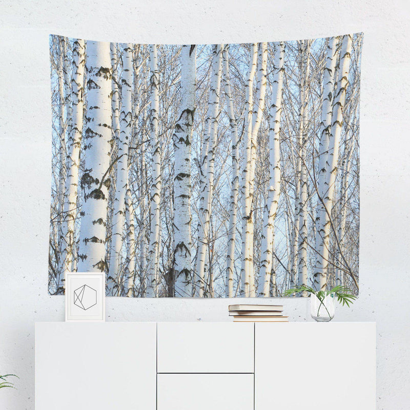 Birch Tree Tapestry-W.FRANCIS