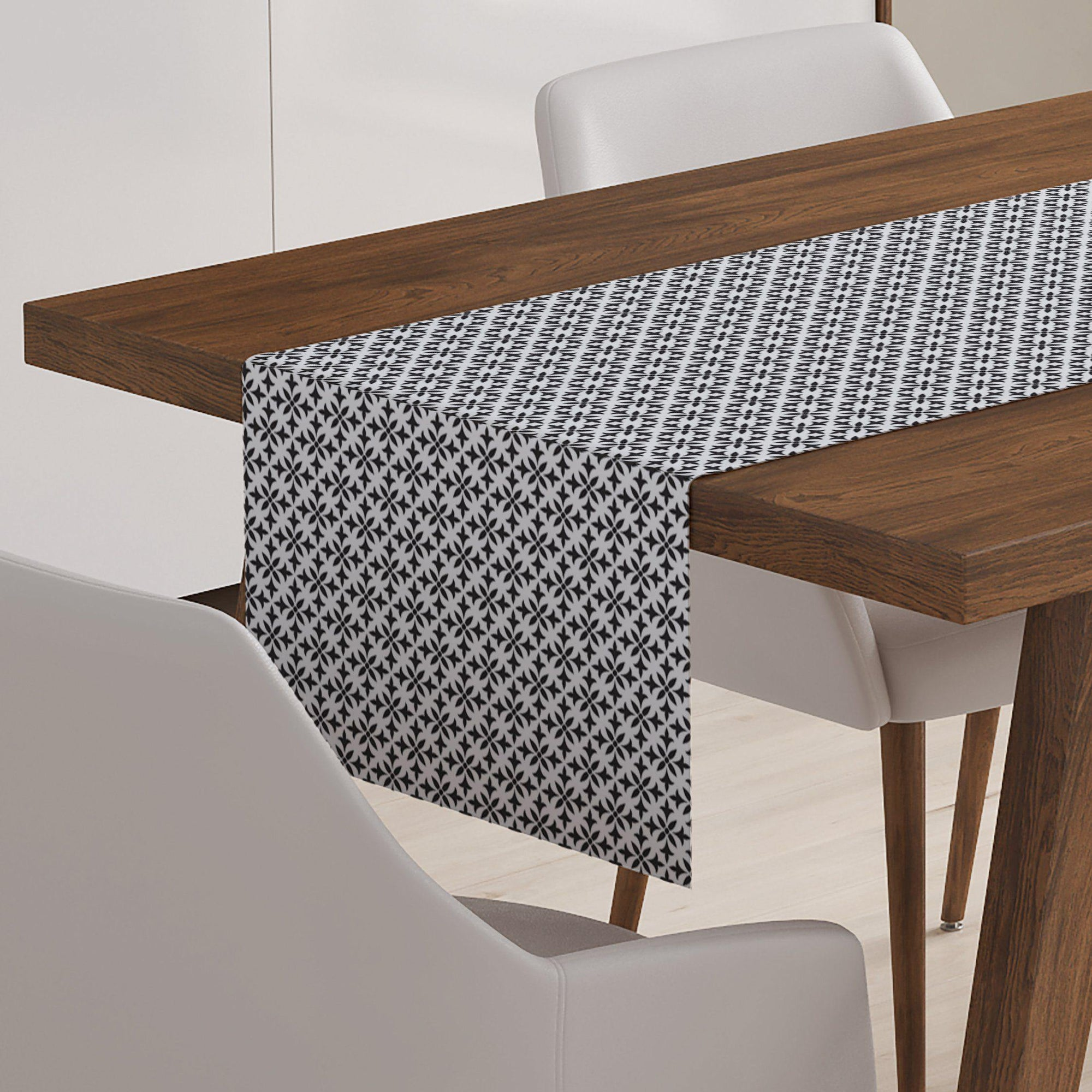 Black and White Table Runner - Table Runners - W.FRANCIS