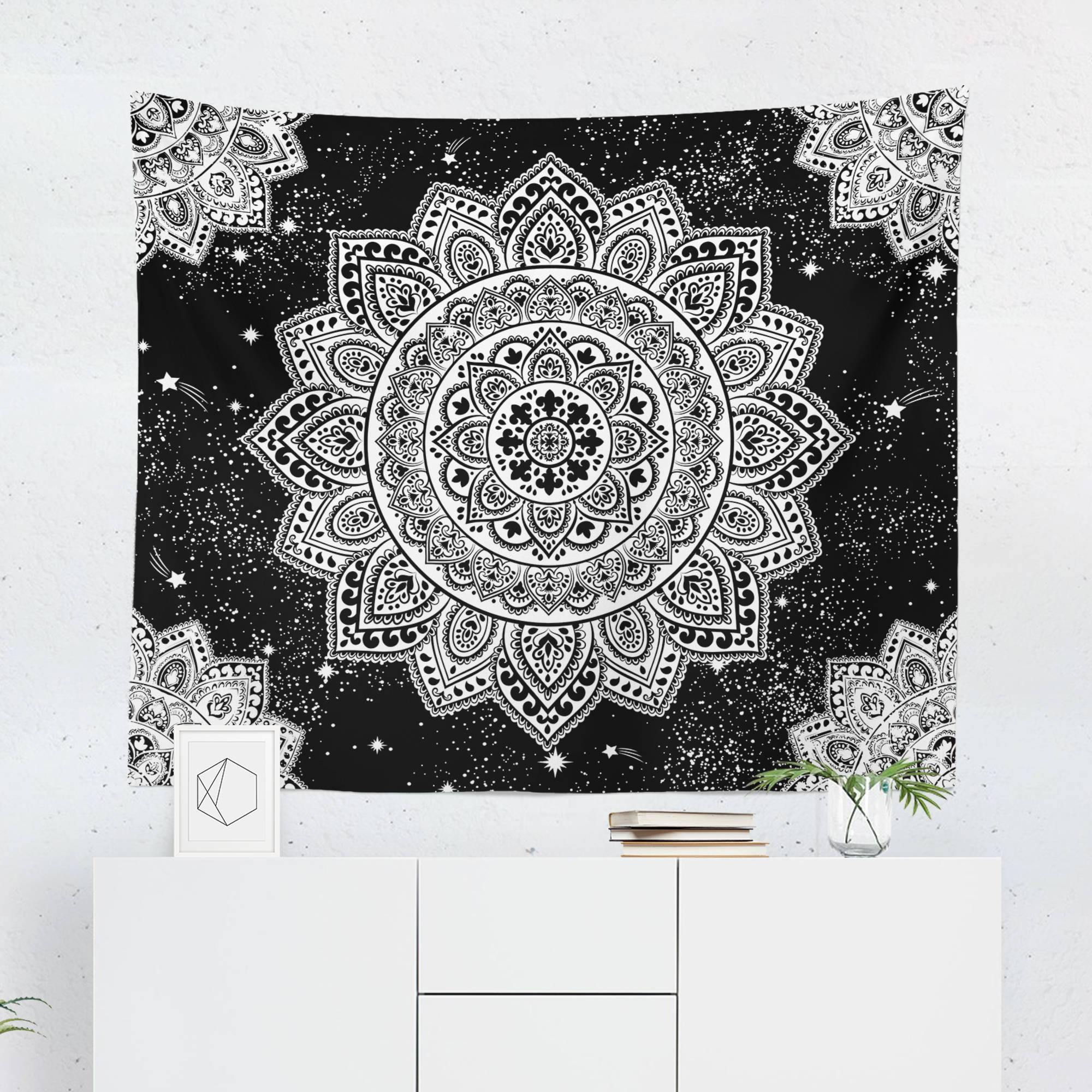 Black and White Tapestry-W.FRANCIS