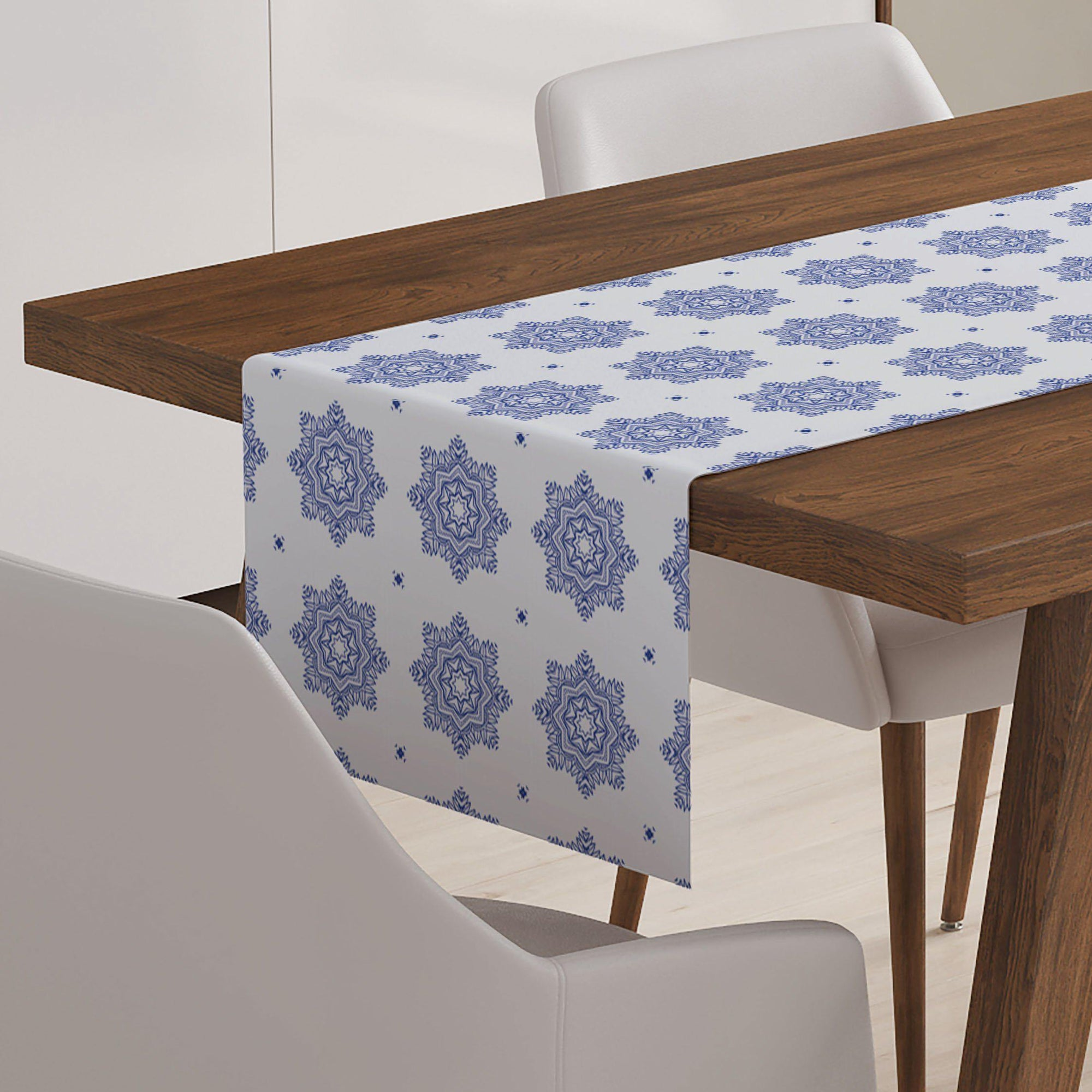 Blue and White Table Runner - Table Runners - W.FRANCIS