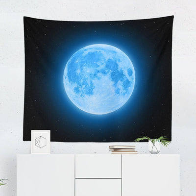 Blue Moon Tapestry-W.FRANCIS