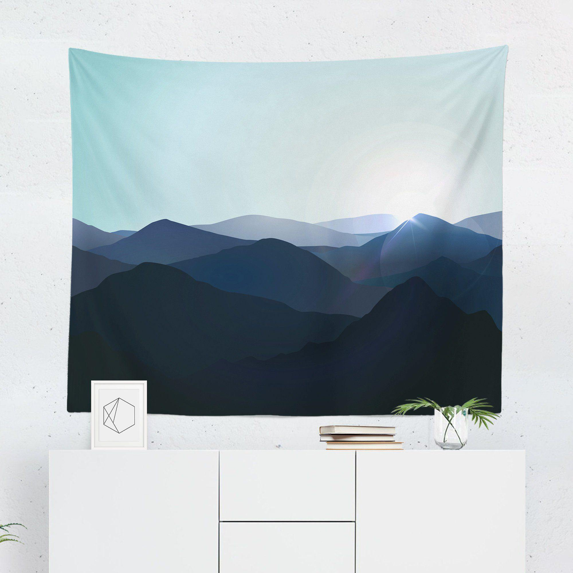 Blue Mountain Wall Tapestry-W.FRANCIS