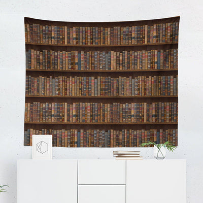Bookcase Tapestry-W.FRANCIS