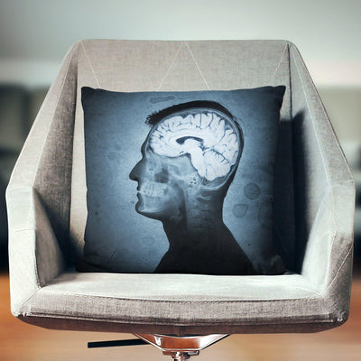 Brain Art Pillow - Pillow Covers - W.FRANCIS