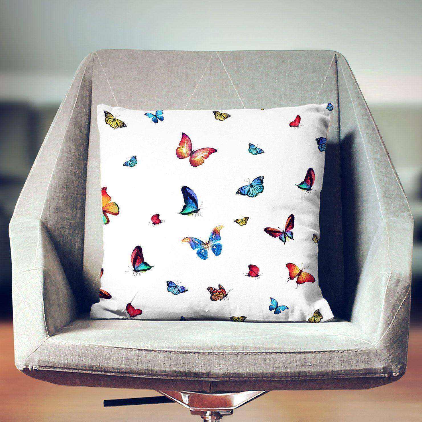 Butterfly Pillow-W.FRANCIS