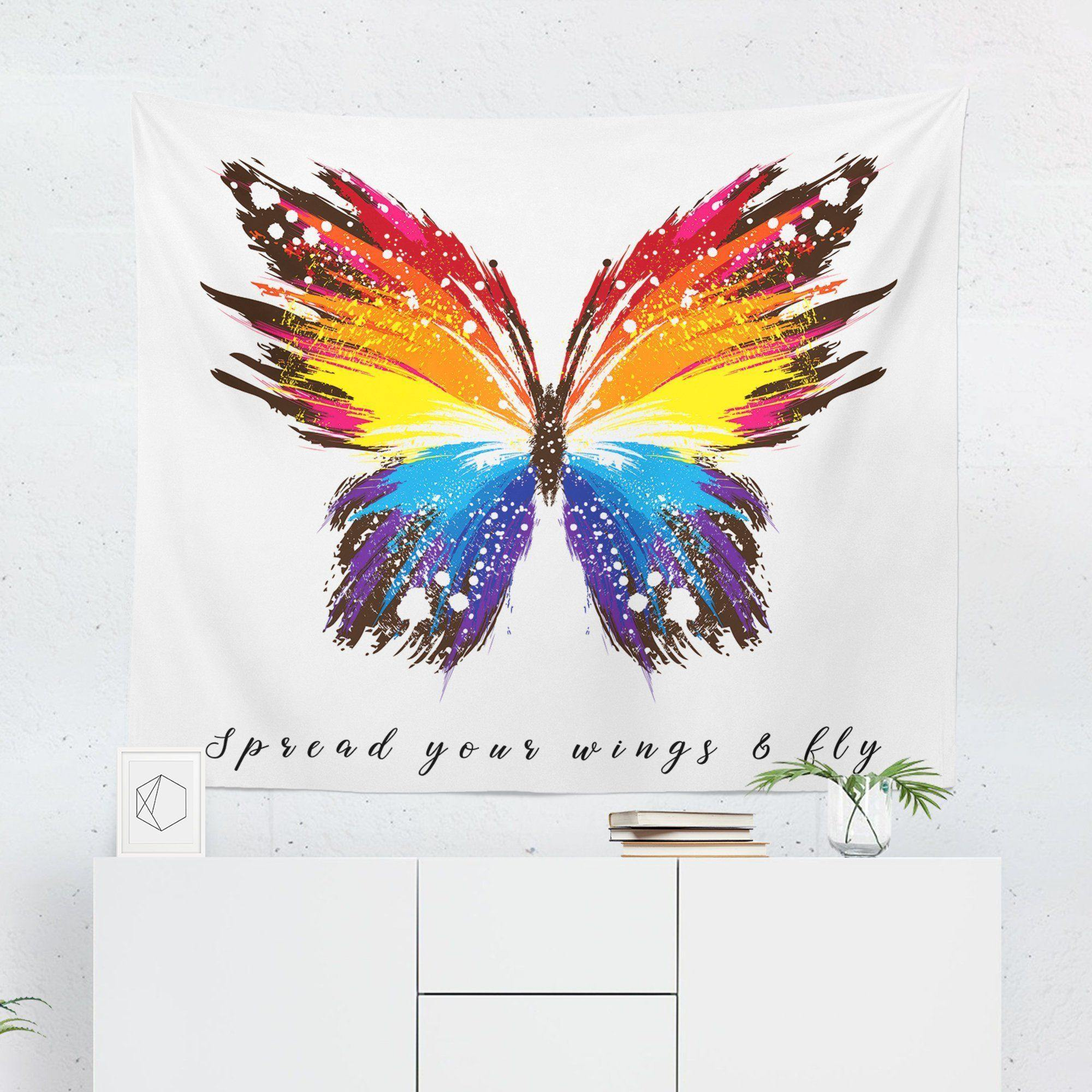 Butterfly Tapestry-W.FRANCIS