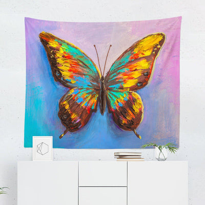 Butterfly Wall Tapestry-W.FRANCIS
