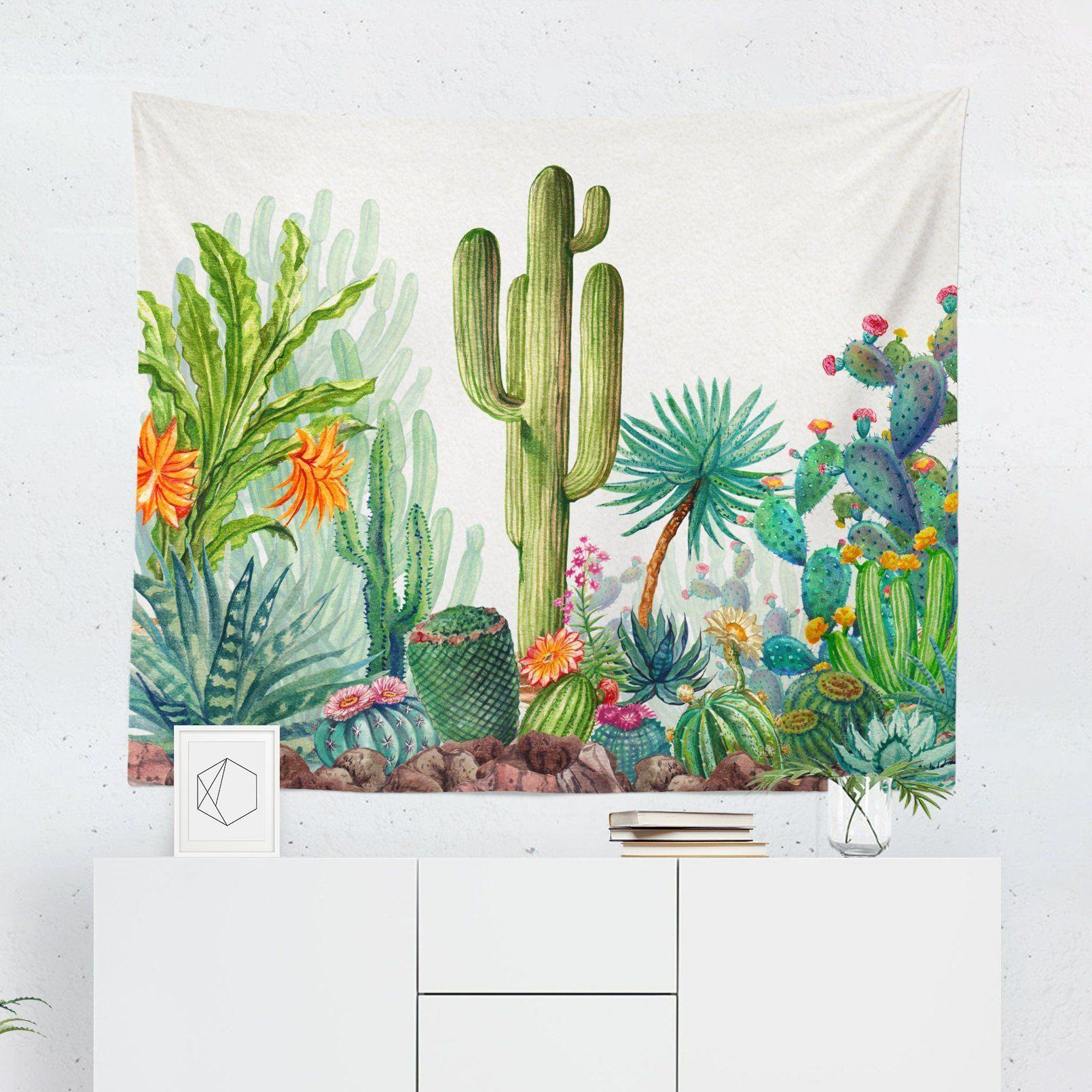 Cactus Tapestry-W.FRANCIS