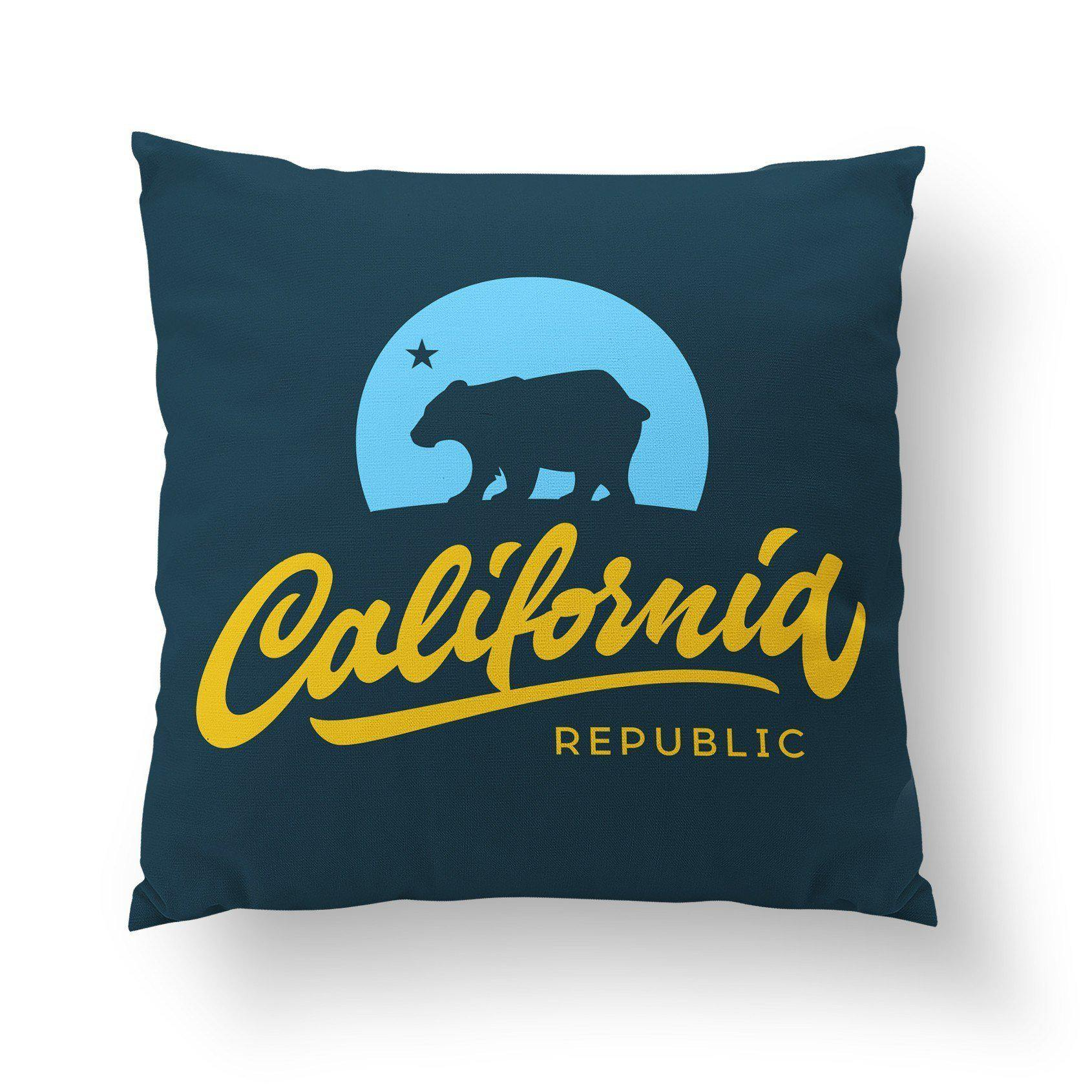 California Republic Pillow-W.FRANCIS